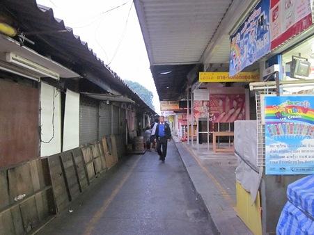 タイな町並み(早朝)