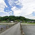 写真: 橋のある風景。