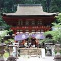 写真: 世界遺産・丹生都比売神社