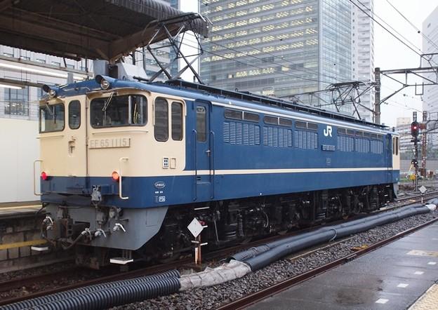 EF651115 上野駅 単機