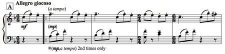 ピアノソロ「てんとう虫」