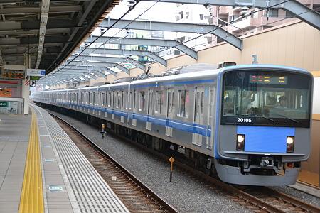 西武20000系@中村橋駅