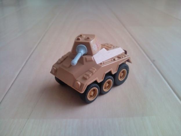 コンバットチョロQ C-18 プーマ装甲車(対戦車砲タイプ)