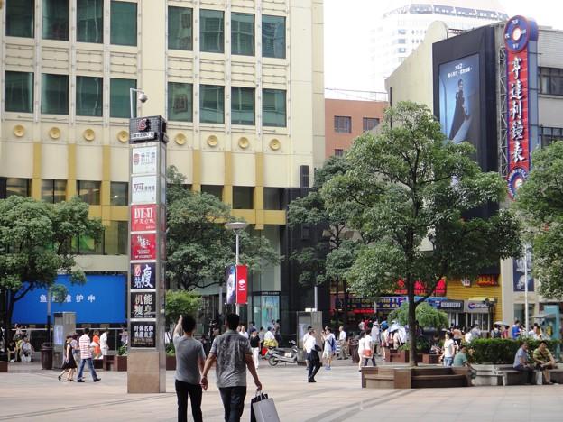 南京東路歩行街 世茂商厦前3