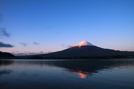2010/05/28 4:40 今朝の富士