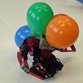 Photos: 風船割りゲームで風船だらけになったTINYWAVE