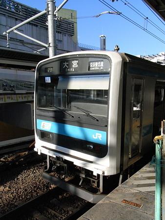 209系京浜東北線(横浜駅)
