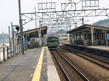 205系横浜線H17編成(片倉駅)