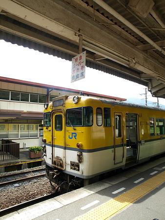 キハ40山口線(津和野駅)15