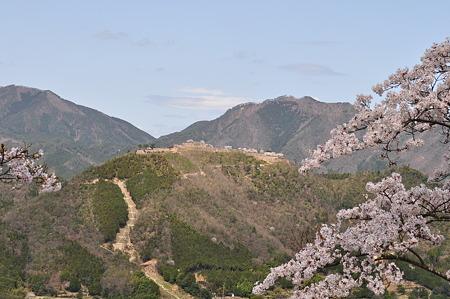 立雲峡からの竹田城