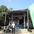 写真: 三鬼堂へ参拝