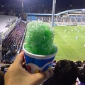写真: 試合がアレなので、かき氷タイムでち(´ヘ`;)