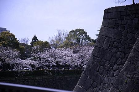 大阪城公園、春の日05