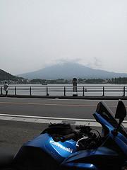 河口湖東側