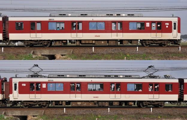 近鉄1440系1440F(VW40)山側側面 2010.03.11