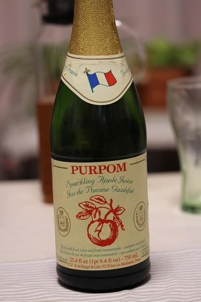 ピュアポム スパークリング アップルジュース 瓶