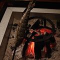 Photos: 山湖荘 ヤマメの串囲炉裏焼き