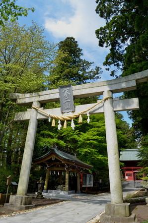 東口本宮浅間神社・鳥居