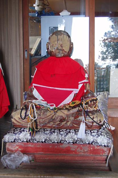 Photos: 長命寺のおびんずるさん2011年01月09日_DSC_0146