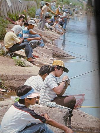 昔の釣り風景