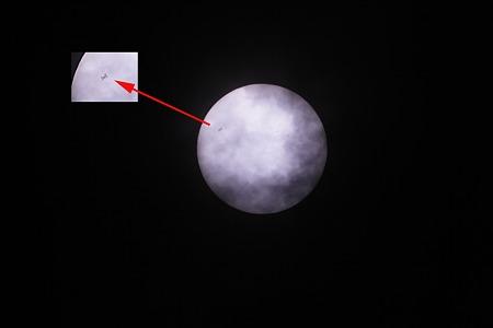 ISS 日面通過2011/05/06 003-3
