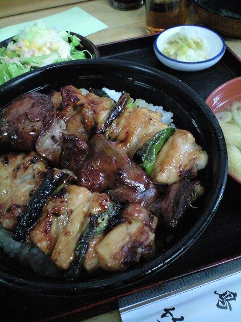 渋谷の焼き鳥丼