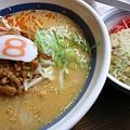 Photos: 富山の担々麺と半チャーハン