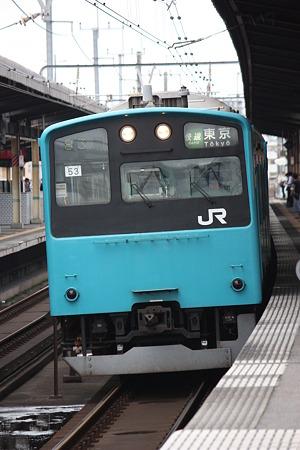 2010/06/27(日) 京葉線201系電車[稲毛海岸駅にて]
