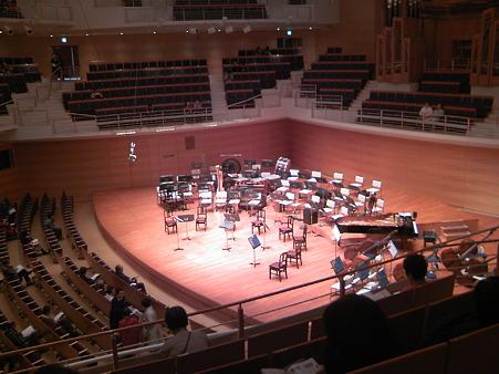 東京交響楽団第58回新潟定期最初のセッティング