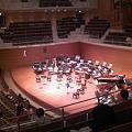 写真: 東京交響楽団第58回新潟定期最初のセッティング