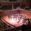Photos: 東京交響楽団第58回新潟定期最初のセッティング