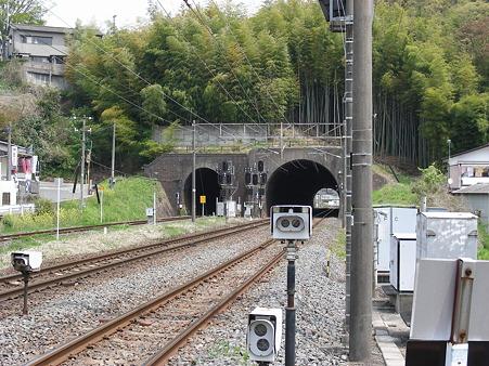 JR常磐線&磐越東線のトンネル