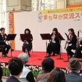 Photos: まちなか交流ステージ2011での演奏風景(3)