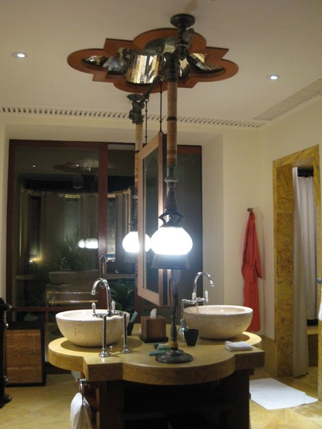 2007/10/05 ホテルのお部屋、バスルーム