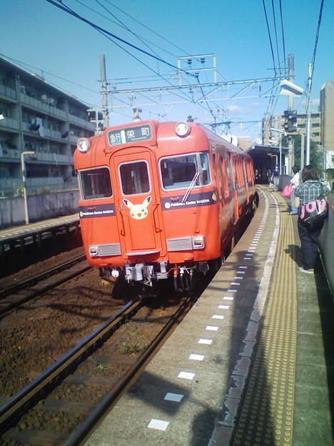 青空と電車 (9) 2008年 7月