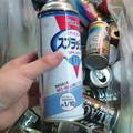 Photos: 空き缶の仕分けやってたらス...