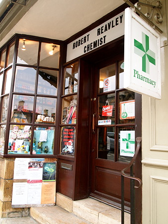 england's oldest pharmacy