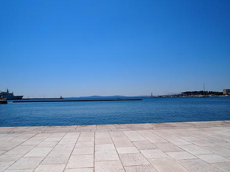 アドリア海を眺める