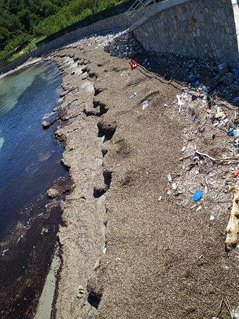 アドリア海のゴミ