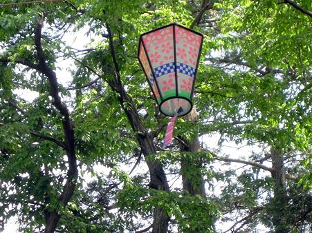 木陰の飾り