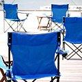 写真: Chairs on Deck
