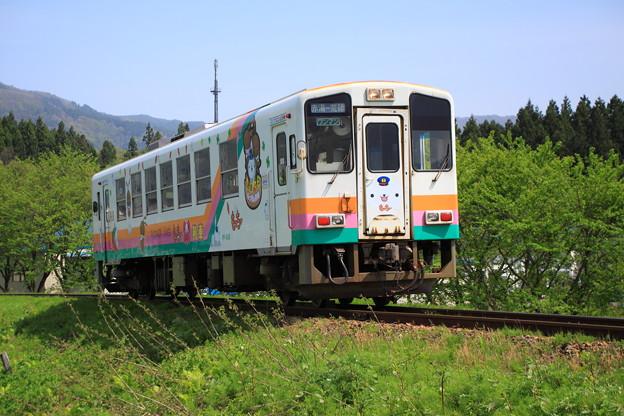 山形鉄道 もっちぃ列車