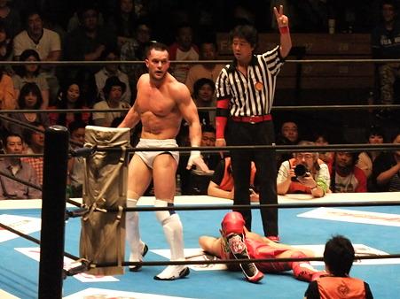 新日本プロレス BEST OF THE SUPER Jr.XIX Aブロック公式戦 プリンス・デヴィットvsKUSHIDA (11)