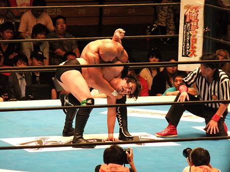 新日本プロレス BEST OF THE SUPER Jr.XIX Bブロック公式戦 田口隆祐vsロウ・キー (4)