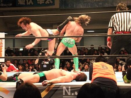 新日本プロレス CMLL 後楽園ホール 20110123 (14)
