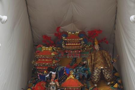 10 2014年 博多祇園山笠 福岡ドーム 飾り山笠 合戦大保原 (8)