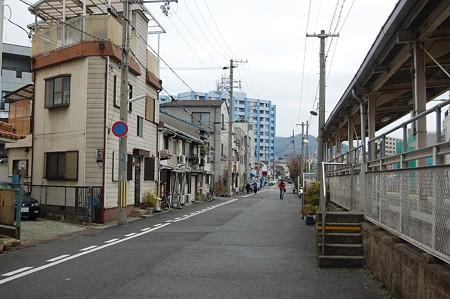 JR和田岬駅 ホーム裏