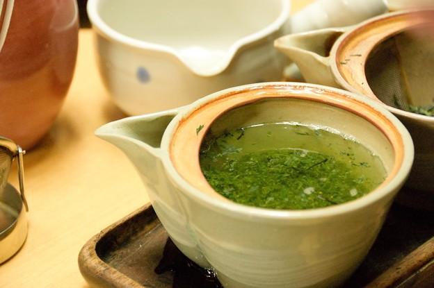 堀井七茗園にてお茶を頂く
