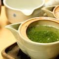 Photos: 堀井七茗園にてお茶を頂く