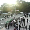写真: T0010061-原宿駅横広場明治神宮前
